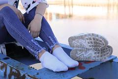 IMG_6365 (postfach0799) Tags: feet fetish socks dirty soles foot nike air max fetisch sportschuhe schuhe socken hot sexy young women