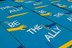 Be the Ally (scottboms) Tags: beinghear books prints silkscreen posters betheally facebook analogresearchlab projects