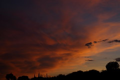Sunset 7 6 18 #07 (Az Skies Photography) Tags: sun set sunset dusk twilight nightfall cloud clouds sky skyline skyscape rio rico arizona az riorico rioricoaz arizonasky arizonaskyline arizonaskyscape arizonasunset orange salmon gold golden yellow black july 6 2018 july62018 7618 762018 canon eos 80d eos80d canon80d canoneos80d
