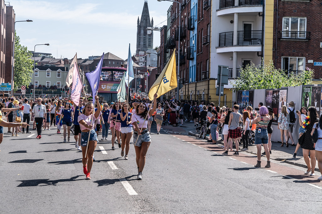 ABOUT SIXTY THOUSAND TOOK PART IN THE DUBLIN LGBTI+ PARADE TODAY[ SATURDAY 30 JUNE 2018] X-100002