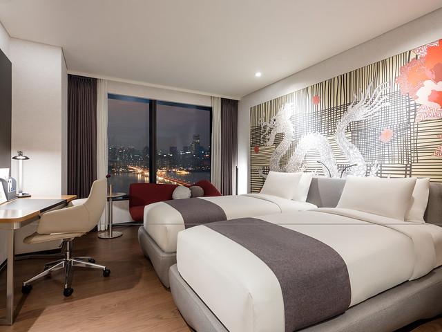 ソウルのホテル:ノボテル アンバサダー ソウルヨンサン(客室)