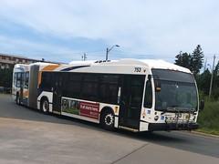 Halifax Transit 753 (The Halifax Transit Fan!) Tags: canadianpublictransit publictransit canadiantransit transitbus novabuslfs articulatedbus halifaxmetrotransit hfxtransit753