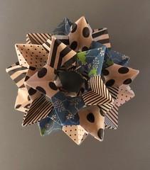 Electra - Icosidodecahedron (anuradhadeacon-varma) Tags: paperfolding papercrafts electra origami modularorigami