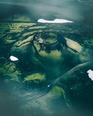 Volcanic Landscapes (Airpixelsmedia) Tags: landscape crater iceland volcanic moody flickr natgeo sunset sunrise cloud overcast aerial drone djoglobal nature mavic landmannalaugar