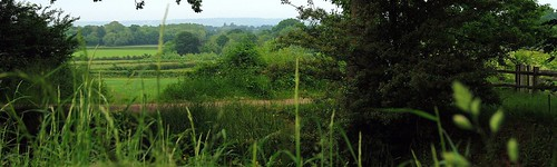 Sissinghurst Castle and Garden - The Beautiful View From Behind Nigel & Benedict Nicolson's Gazebo