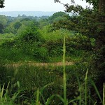 Sissinghurst Castle and Garden - The Beautiful View From Behind Nigel & Benedict Nicolson's Gazebo thumbnail