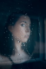 Aida Deturck (Maikaiju Palacios) Tags: dark oscuro claro brillo sol radiante blancoynegro blackandwhite bw gotas agua sombras atardecer cabello piel ojos lips barcelona catalunya igers