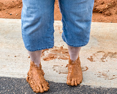 Bigfoot (augphoto) Tags: augphotoimagery feet mess mud greenwood southcarolina unitedstates