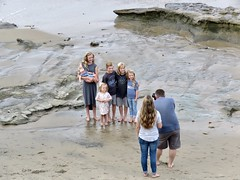 Family Portrait (Bennilover) Tags: photography familyphoto family posing children beach lagunabeach baby parents camera morning candid candids bluff