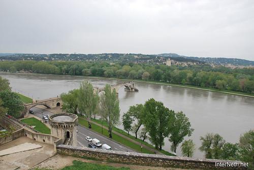 Річка Рона, Авіньйон, Прованс, Франція InterNetri.Net France 1459