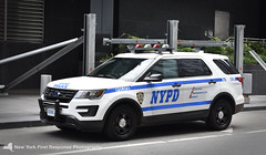 2016 NYPD FPIU 5500 (CTB) (nyfrp) Tags: new york police department nypd car policecar lightbar slr federal signal sl alprs pushbar manhattan nyc newyork newyorkcity worldtrade center wtc world trade freedomtower downtown midtown south ferry 1st precinct ford interceptor utility explorer fpiu pd