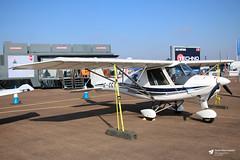 G-CCYR Fly Buy Ultralights Ikarus C42 FB80, Airbourne Aviation Ltd, RAF Fairford, Gloucestershire (Kev Slade Too) Tags: gccyr flybuyultralights ikarus c42 fb80 airbourneaviationltd