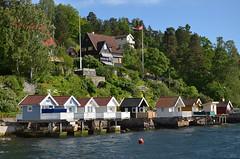 DSC_5420 Oslo Badehäuser (Charli 49) Tags: nature naturfotografie norwegen oslo fjord badehäuser