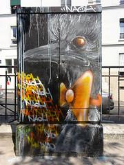 NaÖH artiste (2018) (Archi & Philou) Tags: oiseau paris13 streetart boîteàfeux butteauxcailles naöh