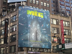 The Meg 2018 Film Billboard on Broadway NYC 5480 (Brechtbug) Tags: the meg 2018 billboard film based 1997 science fiction book a novel deep terror by steve alten giant shark movie that has bounced around studios for two decades megalodon monster broadway 36th st poster jaws like summer august holiday ocean creature spooky sea monsters nyc 07152018 new york city midtown west side street
