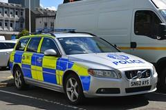 SN62 AYS (S11 AUN) Tags: police scotland volvo v70 d5 estate anpr video traffic car rpu trpg trunkroadspatrolgroup roads policing unit 999 emergency vehicle cdivision sn62ays