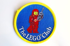 Classic space woven patch (BF Bricks) Tags: lego ephemera collectible patch sew embroidered 90s 80s