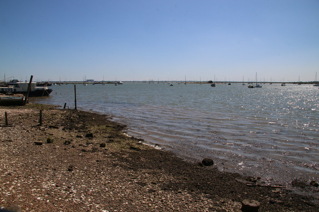 Looking out towards the Crouch Estuary