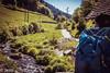 wandering... (Felicis_Flower) Tags: wandern wandering man mann people mensch mill mühle schwarzwald blackforest deutschland germany river fluss water wasser