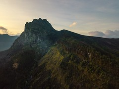 Mount Kelud, silent of the glowing sunrise (Safran Nasution) Tags: indonesia kediri landscape mountain