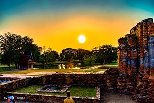 Wat Mahathat Ayutthaya Thailand-6a