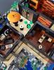 Lava House MOC interior (betweenbrickwalls) Tags: lego afol architecture legophotography volcano