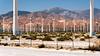 Wind Power (Torsten Reimer) Tags: berge palmsprings usa windrad unitedstatesofamerica desert northamerica zaun himmel mountains sky windmill hills california windturbine fence unitedstates us