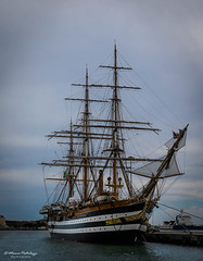 Nave Vespucci (MarcoPistolozzi) Tags: nave boat amerigovespucci mare livorno navescuolaamerigovespucci marinamilitare vascello