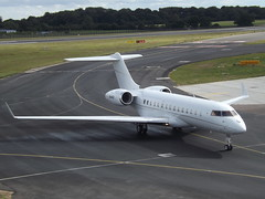 N64NY Bombardier Global Express XRS 6000 Tvpx AircaftI Solutions Inc Trustee (Aircaft @ Gloucestershire Airport By James) Tags: luton airport n64ny bombardier global express xrs 6000 tvpx aircafti solutions inc trustee bizjet eggw james lloyds
