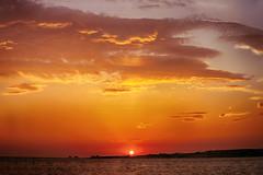 Sunset at Paros Island (lfeng1014) Tags: sunsetatparosisland sunset paros parosisland greekisland aegeansea greece golden ocean sea canon5dmarkiii landscape travel lifeng ef70200mmf28lisiiusm goldensky