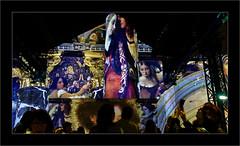 Série Atelier des Lumières : N°13  - Fin - (Jean-Louis DUMAS) Tags: artistic peintre peinture abstract abstrait abstraction artistique artiste art woman fille girl femme people personne smartphone