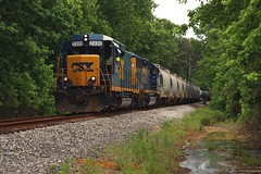 CSX A700-21 (Steve Hardin) Tags: locomotive engine standardcab emd gp402 roadslug csx railroad railway railfan manifest freight train cartersville georgia