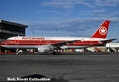 Air Canada A320-211 C-FKOJ (planepixbyrob) Tags: aircanada canada airbus a320 yvr vancouver vancity retro kodachrome