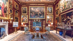 The Fourth George Room (Carol Spurway) Tags: peterborough cambridgeshire stamford lincolnshire stmartinswithout barnack 16thcentury elizabethan burghleyhouse treasurehousesofengland hha historichouses historichousesassociation interior house