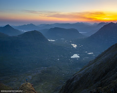 Liathach Dawn (RobGrahamPhotography) Tags: liathach torridon mountain mountains munro dawn sunrise landscape landscapes torridonhills sky scotland highlands outdoors canon canon6d