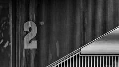 2 (andbog) Tags: sony alpha ilce a6000 sonya6000 emount mirrorless csc sonya sonyα sonyalpha sony⍺6000 sonyilce6000 sonyalpha6000 ⍺6000 ilce6000 architettura italia italy wall muro apsc pattern texture building edificio piedmont piemonte to ivrea geometrie geometry canavese architecture minimalist minimalista abstract astratto widescreen 169 16x9 façade facade facciata oss sel 55210mm sel55210 monochrome biancoenero blackandwhite bw bn silverefexpro2 googlenikcollection staircase scale