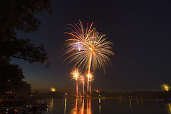 _MG_4987 (MikeDotsonKC) Tags: july summer 4thofjuly independenceday fireworks water reflection canon24105mmf4l canon6d longexposure