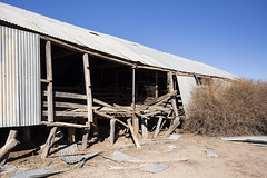 Falling Apart (oz_lightning) Tags: australia canon6d canonef1635mmf4lis dunlopstation nsw westerndivision agriculture building decay disused outback rural woolshed wreck louth newsouthwales aus
