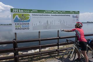 Riprendiamo la ciclabile Alpe Adria