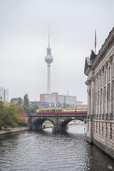 Der Fernsehturm (noukorama) Tags: berlin germany fernsehturm spree bodemusuem ubahn museumsinsel