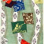 Illustration of Japanese motifs from Bijutsu Sekai (1893-1896) by Watanabe Seitei, a prominent Kacho-ga artist. Digitally enhanced from our own original edition. thumbnail
