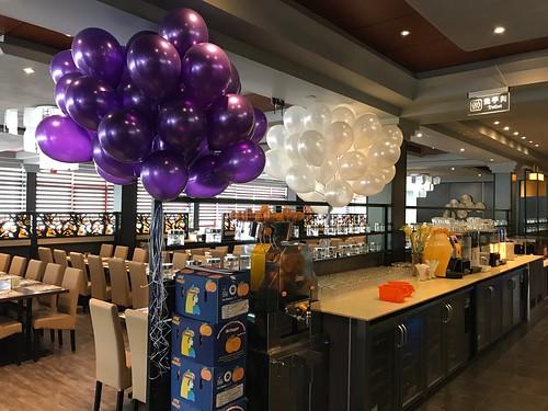 Heliumballonnen Restaurant Atlantis Arnhem