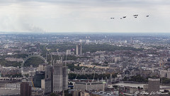 RAF 100 Overview (Ady Williams Photography) Tags: raf 100 raf100 london flypast display royal air force shard 72nd floor lcy aircraft chinook puma overview