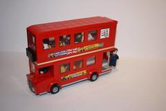 London Double-decker bus: cool bus (Dills Pics) Tags: london doubledecker bus transport lego