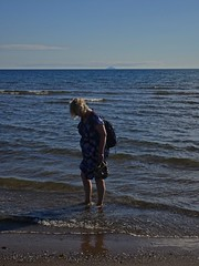 Cooling Down (Bricheno) Tags: 蘇格蘭 स्कॉटलैंड σκωτία river irvine clyde estuary firthofclyde bricheno scotland scozia szkocja scoția schottland écosse escocia escòcia ayrshire beach ailsacraig