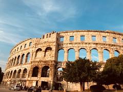 Pula, Croatia (ivona eriuivona) Tags: architecture amphitheater arena pola croatia pula