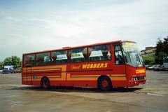 A372HEC (21c101) Tags: a372hec volvo lag webber blisland cornwall exeter devon exeterbusstation 1994