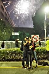 Fire Works With A Selfie ! (Joey Z1) Tags: fireworkswithaselfie familytakingaselfie nightscenelosangeles urbanscene sola fireworks lasgrandpark downtownlosangeles dtla urbanlife fourthofjulycelebration lanights photojournalism pentaxks1 polychromatic bylaphotolaureatejoeyzanotti