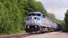CMQ 9023 West by Bodfish (MaineTrainChaser) Tags: trains train west westbound cmq cefx job1 moosehead sub