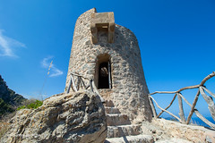 Torre Del Verger (FABKE'S PHOTOBLOG) Tags: 07191 banyalbufar illesbalears balearen balearics baleares island eilan bluesky stones monument mountain rocks inexplore explore mallorca 2018 holiday vacation niceweather landscape geotagged tagged map location